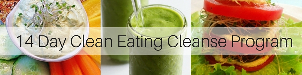 14 Day Clean Eating Cleanse Program Header